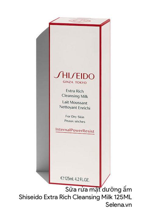 Sữa rửa mặt dưỡng ẩm Shiseido Extra Rich Cleansing Milk 125ML