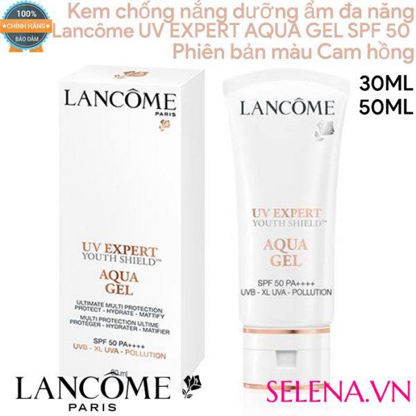 Kem chống nắng dưỡng ẩm đa năng Lancôme Uv Expert Aqua Gel Spf 50