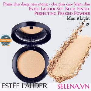 Phấn phủ dạng nén Estée Lauder Perfecting Pressed Powder #Light