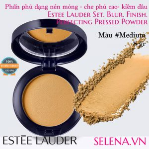 Phấn phủ dạng nén Estée Lauder Perfecting Pressed Powder #Medium
