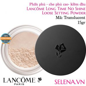 Phấn phủ kiềm dầu Lancôme Long Time No Shine Loose Setting Powder #Translucent