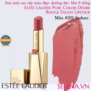 Son môi Estee Lauder Pure Color Desire Rouge Excess Lipstick #201 Seduce