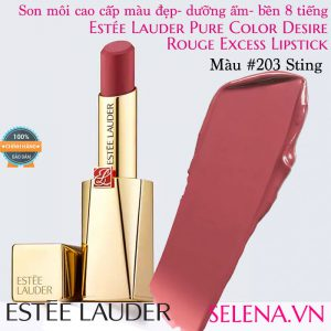 Son môi Estee Lauder Pure Color Desire Rouge Excess Lipstick #203 Sting