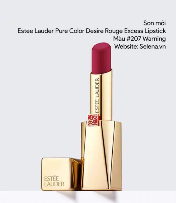 Son môi Estee Lauder Pure Color Desire Rouge Excess Lipstick #207 Warning