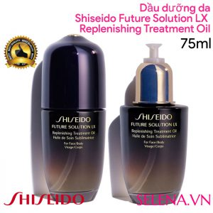 Dầu dưỡng da Shiseido Future Solution Lx Replenishing Treatment Oil 75ml