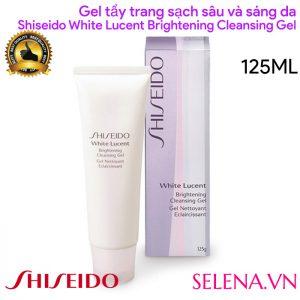 Gel tẩy trang Shiseido White Lucent Brightening Cleansing Gel 125ml