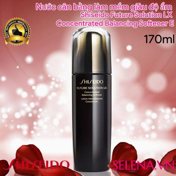 Nước cân bằng Shiseido Future Solution LX Concentrated Balancing Softener E 170ml