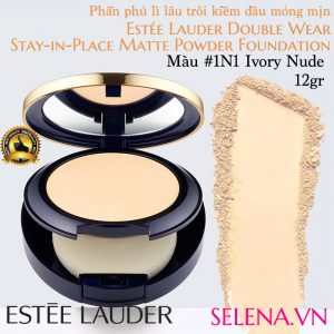 Phấn phủ lì Estee Lauder Double Wear Matte Powder #1N1 Ivory Nude