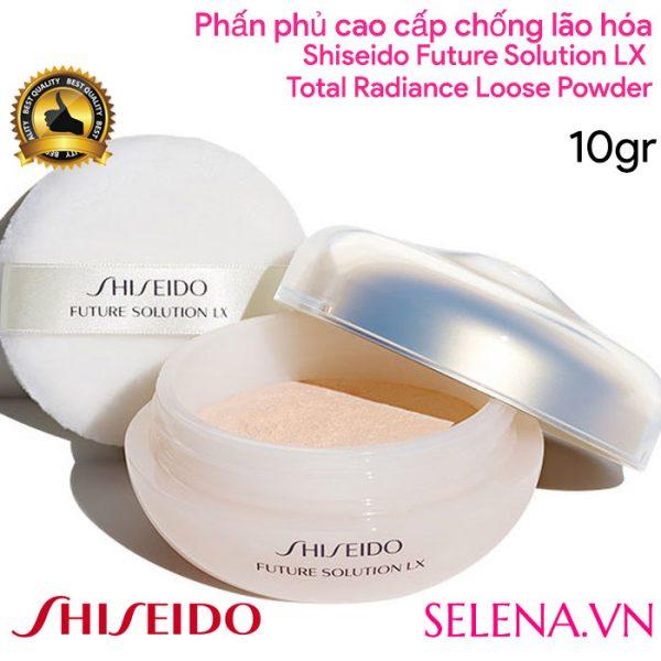 Phấn phủ Shiseido Future Solution LX Total Radiance Loose Powder E 10gr