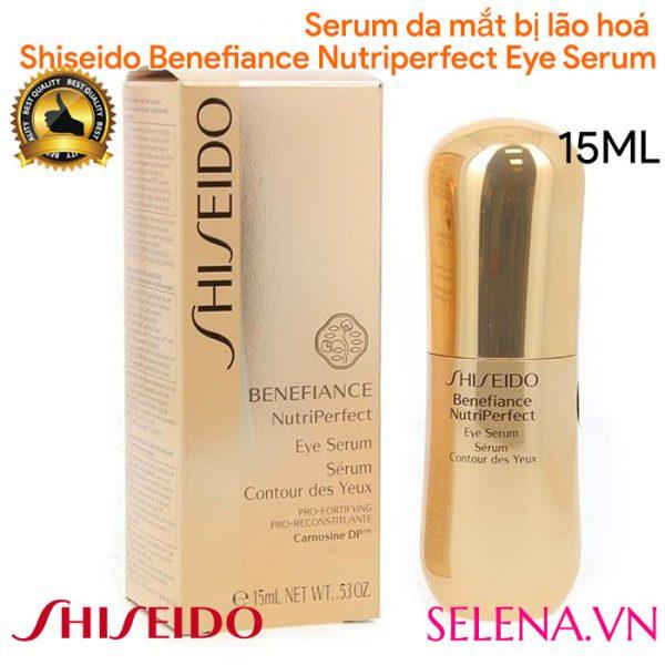 Serum da mắt bị lão hoá Shiseido Benefiance Nutriperfect Eye Serum