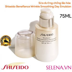 Sữa dưỡng chống lão hóa Shiseido Benefiance Wrinkle Smoothing Day Emulsion 75ML