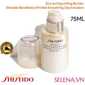 Sữa dưỡng chống lão hóa Shiseido Benefiance Wrinkle Smoothing Day Emulsion 75ML