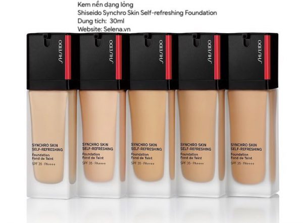Kem nền Shiseido Synchro Skin Self-refreshing Foundation 30ml