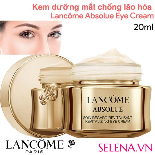 Lancôme Absolue Revitalizing Eye Cream With Grand Rose Extracts