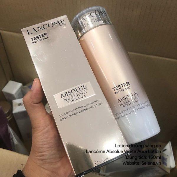 Lotion dưỡng sáng da Lancôme Absolue White Aura Lotion 150ml