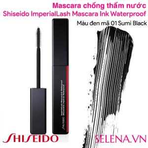 Mascara chống thấm nước Shiseido ImperialLash Mascara Ink Waterproof