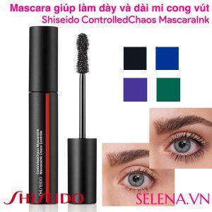 Mascara dày và dài mi cong vút Shiseido ControlledChaos MascaraInk