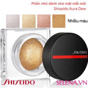 Phấn nhũ dành cho mặt mắt môi Shiseido Aura Dew