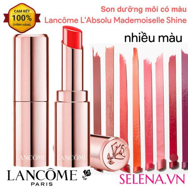 Son dưỡng môi có màu Lancôme L'Absolu Mademoiselle Shine