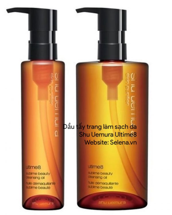 Dầu tẩy trang làm sạch da Shu Uemura Ultime8∞ sublime beauty cleansing oil for global skin concerns