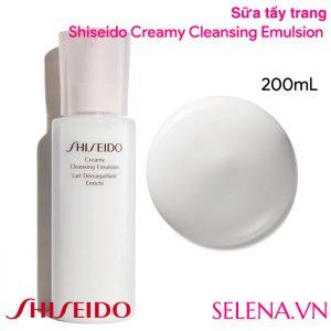 Sữa tẩy trang Shiseido Creamy Cleansing Emulsion 200ML