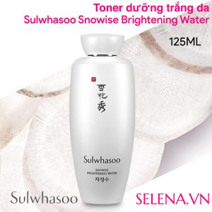 Toner dưỡng trắng, Sulwhasoo Snowise Brightening Water, Toner dưỡng trắng Sulwhasoo, Snowise Brightening Water, Toner dưỡng trắng Sulwhasoo Snowise Brightening Water, Sulwhasoo Snowise