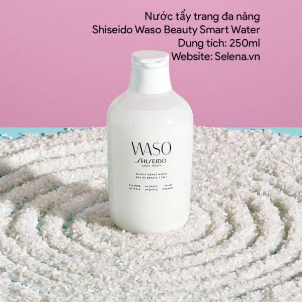 Nước tẩy trang đa năng Shiseido Waso Beauty Smart Water tẩy trang, làm sạch da, dưỡng ẩm da mặt và dưỡng da tươi trẻ, làm mềm da,mịn màn da mặt