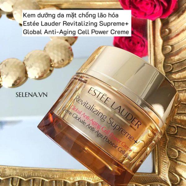 Kem dưỡng da mặt chống lão hóa Revitalizing Supreme+ Global Anti-Aging Cell Power Creme dưỡng ẩm, khoá ẩm, mờ vết nhăn, săn chắc da, đàn hồi da, chống oxy hoá.