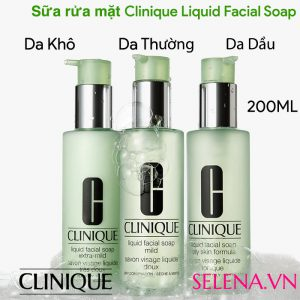 Sữa rửa mặt Clinique Liquid Facial Soap