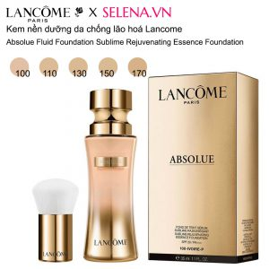 Kem nền dưỡng da chống lão hóa Lancôme Absolue Fluid Foundation Sublime Rejuvenating Essence Foundation, mẫu mới 2020