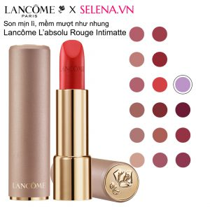 Lancôme L'absolu Rouge Intimatte Blurred Matte Finish Lipstick
