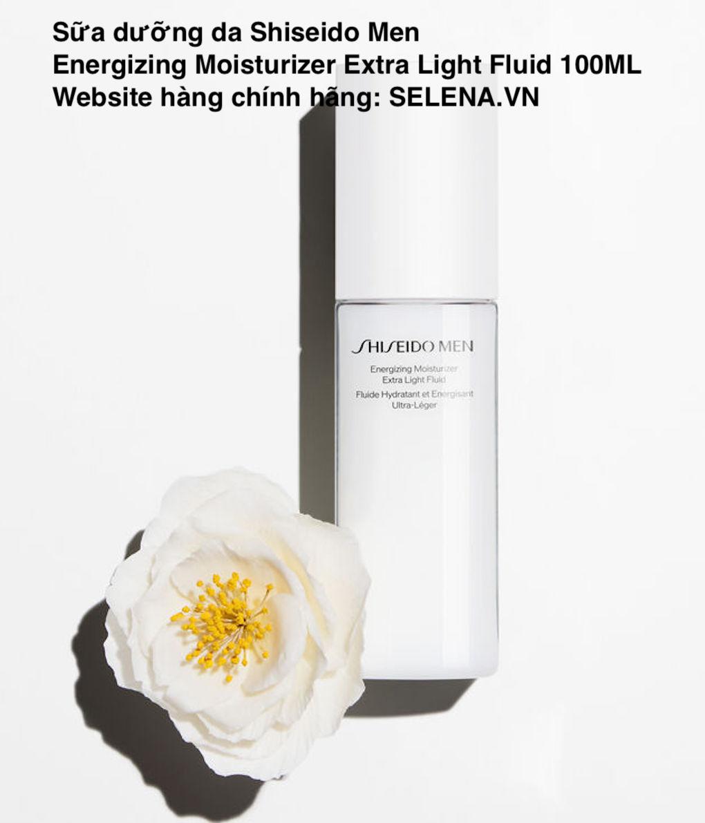 Sữa dưỡng da Shiseido Men Energizing Moisturizer Extra Light Fluid 100ML
